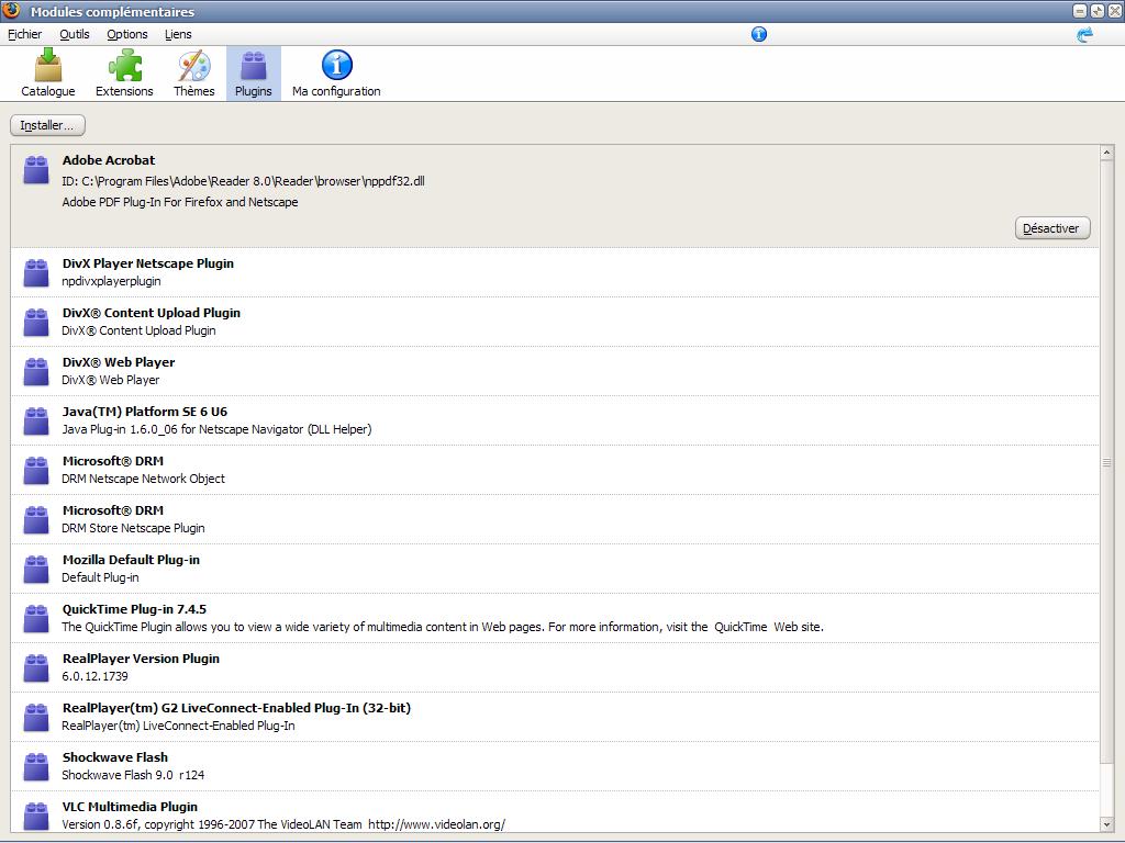 Mozilla Firefox Java plugins download